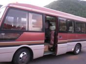 鳩待峠への乗り合いバス
